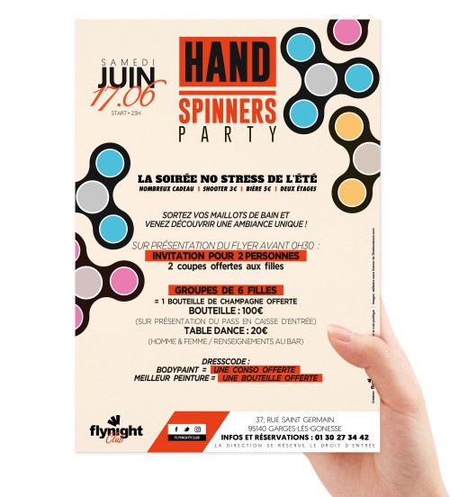 Hand Spinners Party