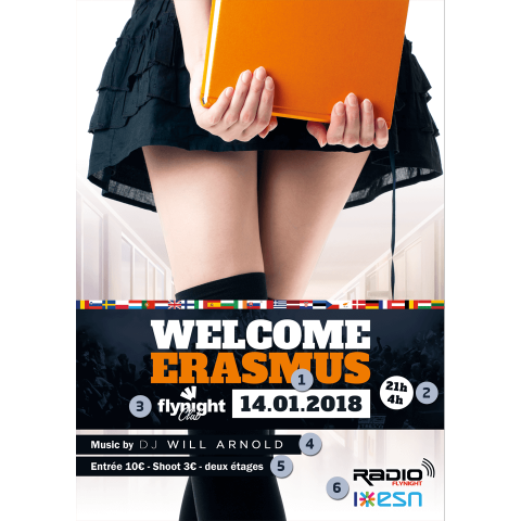 Welcome Erasmus
