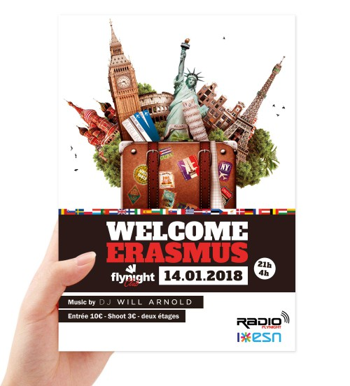 welcome flyers